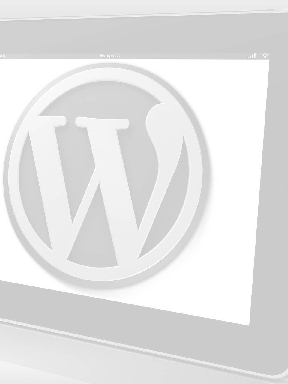 free blog for wordpress web design