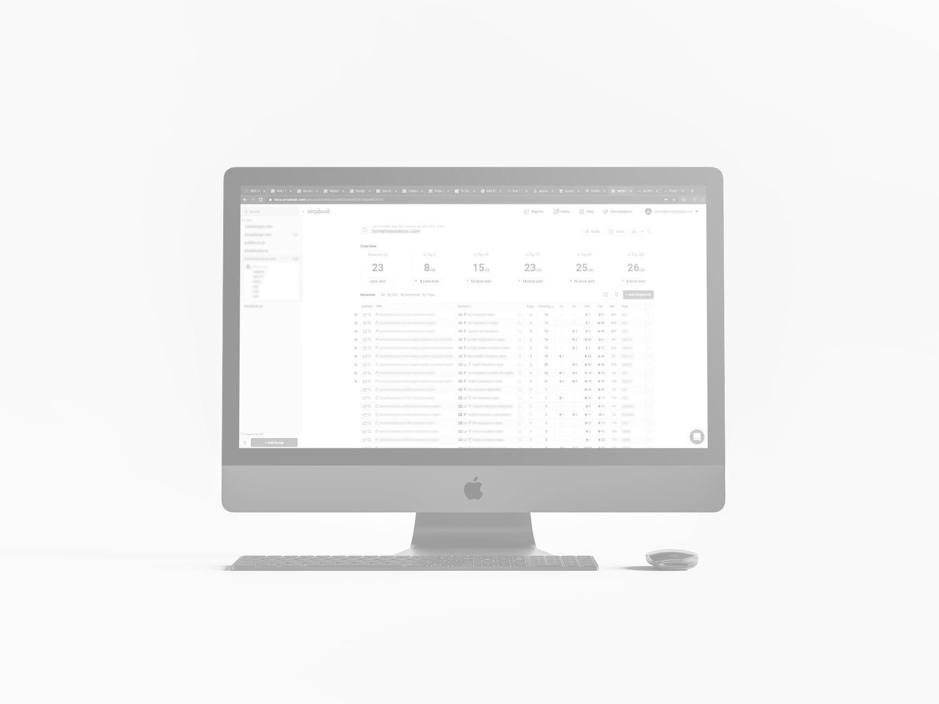 seo mac serpbook keywords tracker