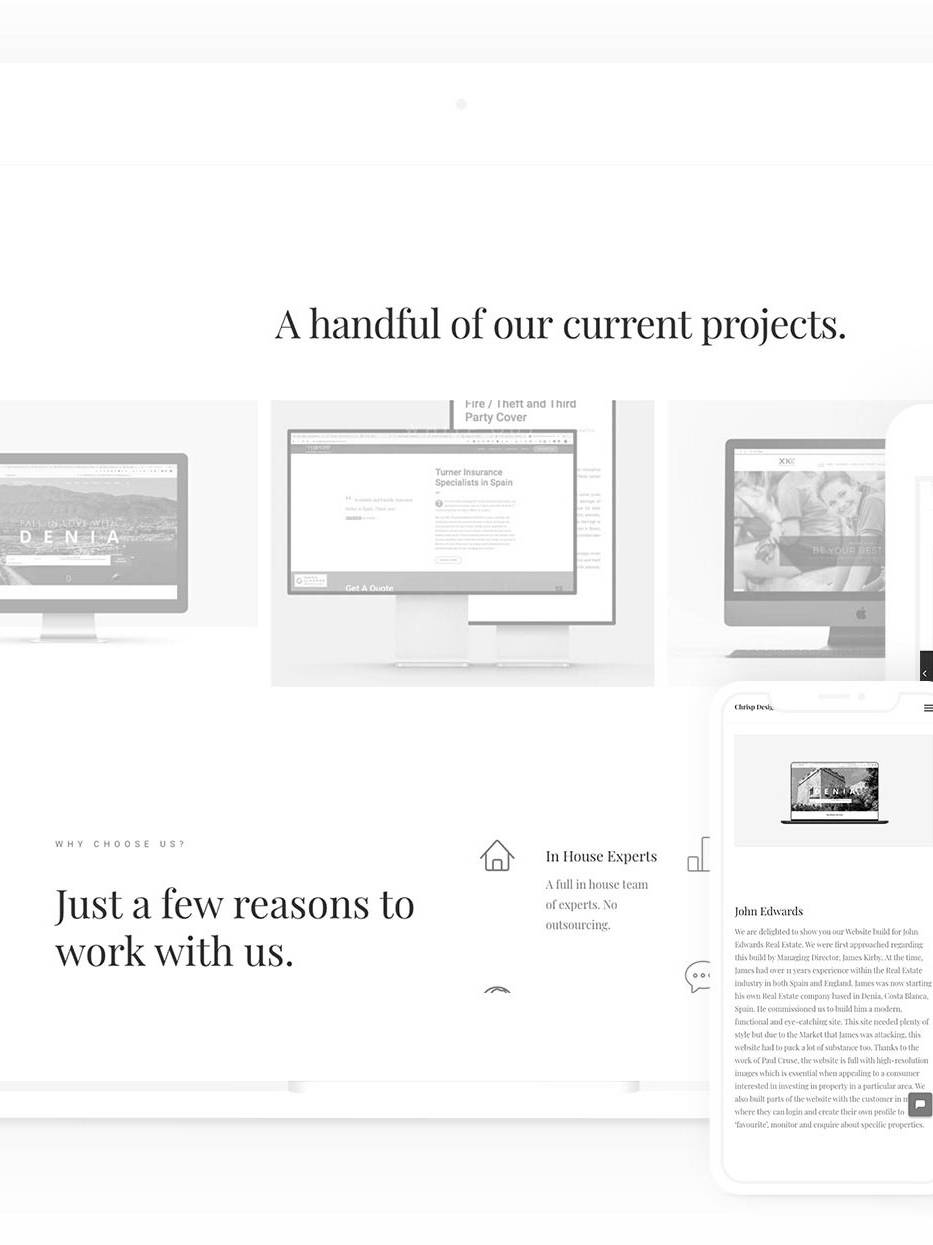 example project to show tips on website deisgn